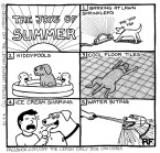 The Joys Of Summer - Off The Leash Cartoons by Rupert Fawcett