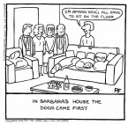 In Barbaras House - Off The Leash Cartoons by Rupert Fawcett