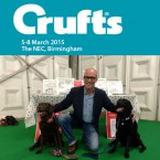 Rupert Fawcett of Off The Leash at Crufts 2015