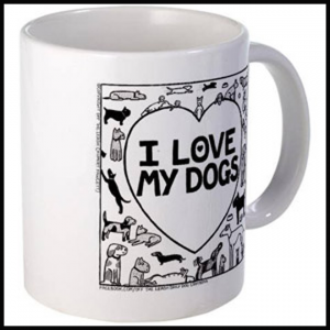 I Love My Dogs Mug