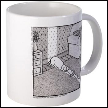 The Sunbathers - Off The Leash mug