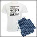 Welcome Home Daddy - Off The Leash Mens Pyjamas