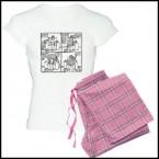 Poppy The Lap Dog - Off The Leash Pyjamas