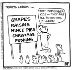 Christmas Raison Warning