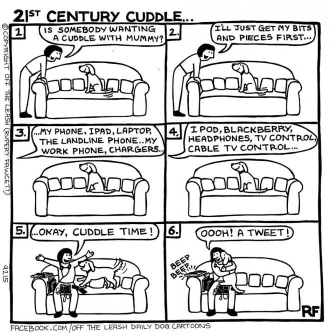 21st Century Cuddle