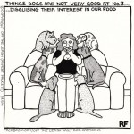 Another thing dogs are not very good at...