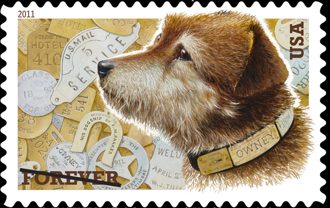 Owney Postage Stamp