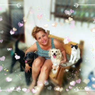Aqui todos Juntos Con Mami! feliz!!!